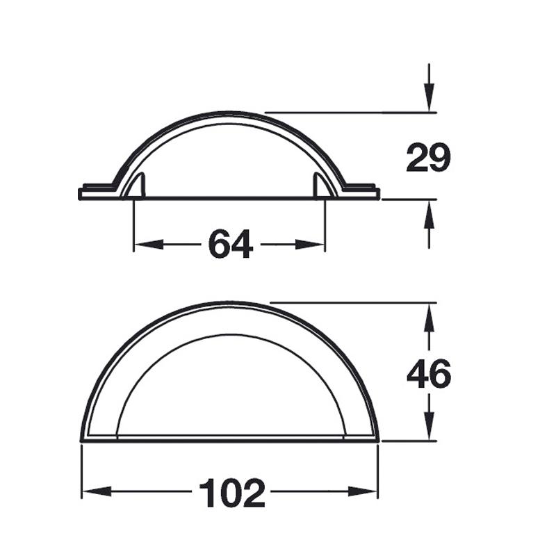 door handle specification sheet